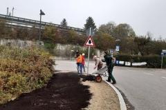 emeinsam mit Gärtnern aus umliegenden Gemeinden wurden trotz Kälte neue Blühflächen in Starnberg angelegt. Bürgermeisterin Eva John bedankt sich für die tolle Teamarbeit!