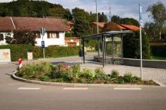 Neue Bushaltestelle in Hadorf