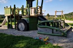 Neuer Spielplatz in Hadorf