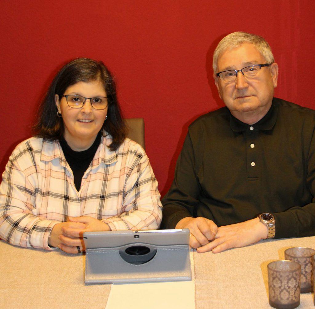 Christine Lipovec und Anton Modl