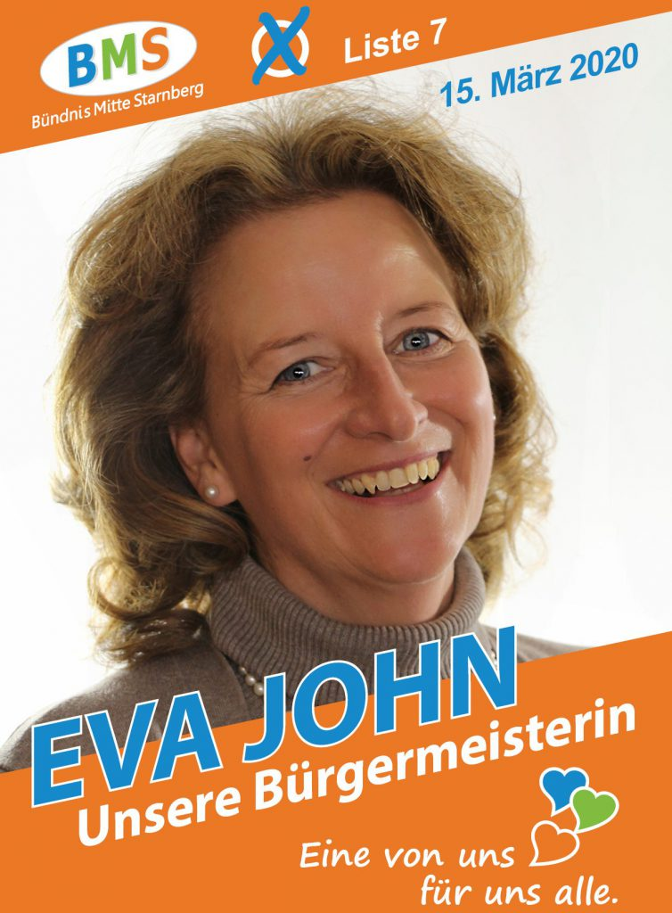 Eva John (Unsere Bürgermeisterin, Platz 1)